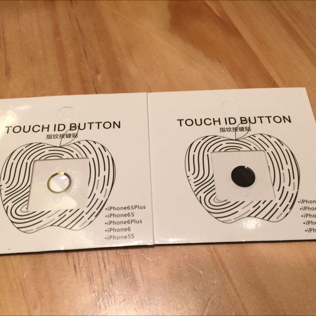 Apple Iphone6/6s 4.7/5.5指紋按鍵貼 內凹按鍵保護貼 6plus