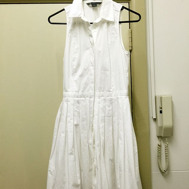 Armani Exchange Little White Dress