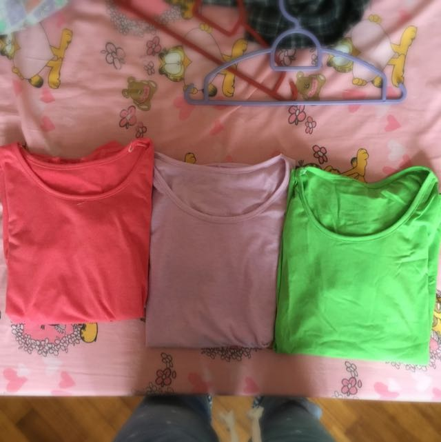 Assorted Neon Colored Shirts