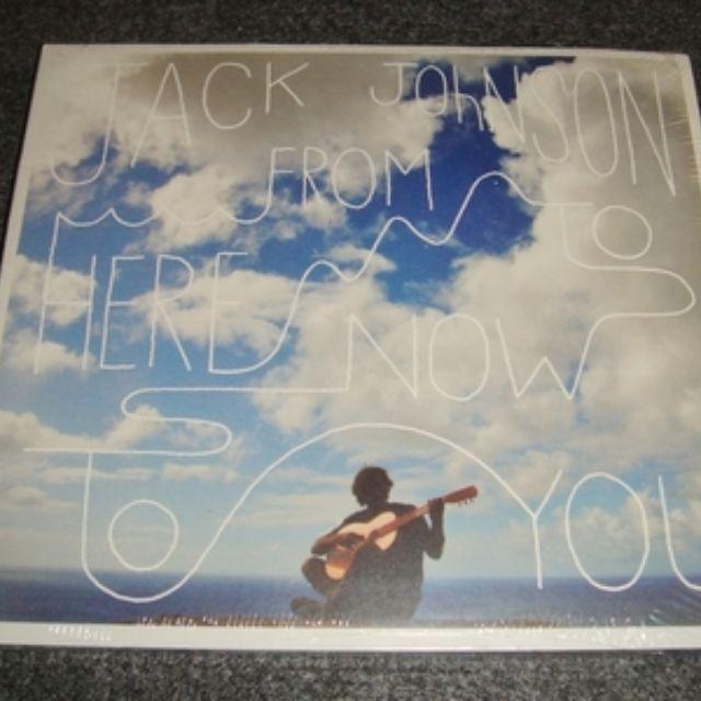 精選CD Jack Johnson - From Here To Now To You 美國版環保裝
