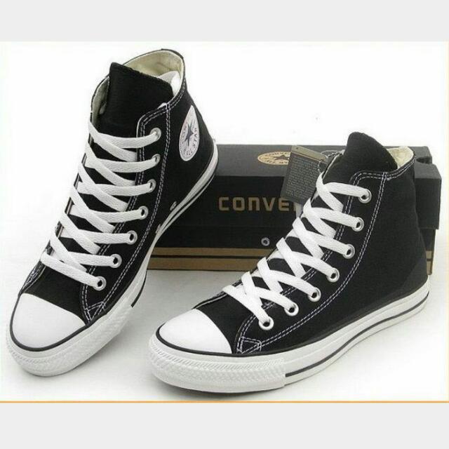 Converse 帆布鞋 黑 正品