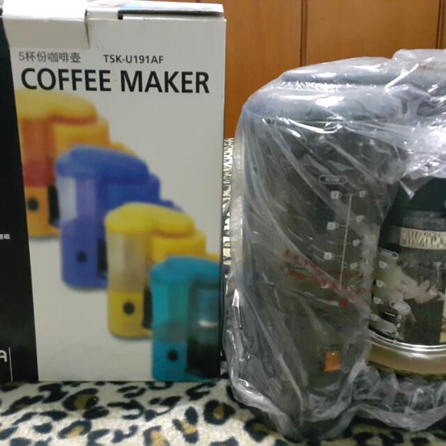 EAPA 全新5人份美式咖啡機