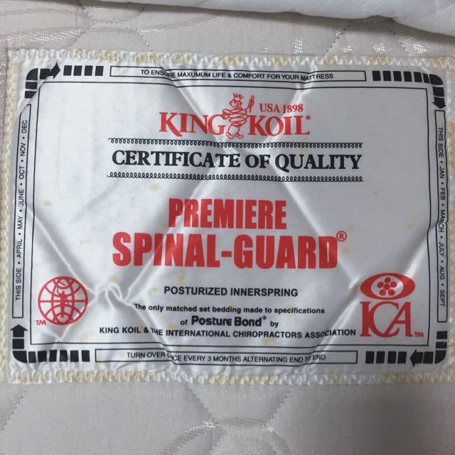 Kingkoil Bed