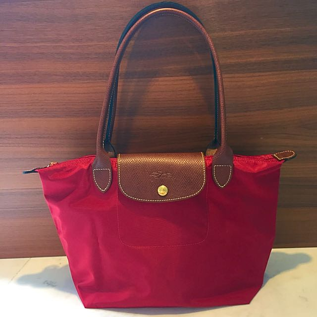 3b11157c1d (SOLD) Longchamp Le Pliage Small Tote Bag (nylon), Luxury on Carousell