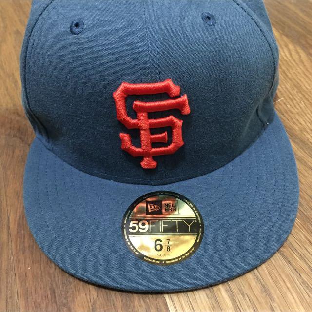 (降價)New Era SF棒球棒 灰藍
