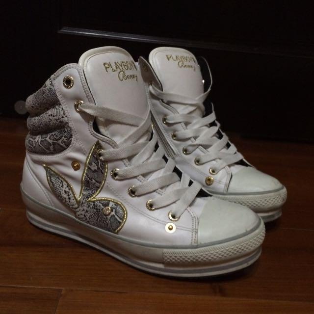 playboy皮質高筒鞋(靴)