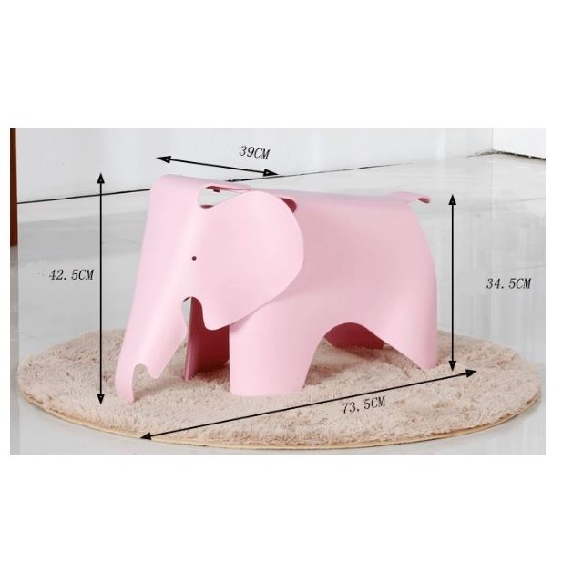Animal Chair Children Stool Elephant Riding Sitting Child Seat ...