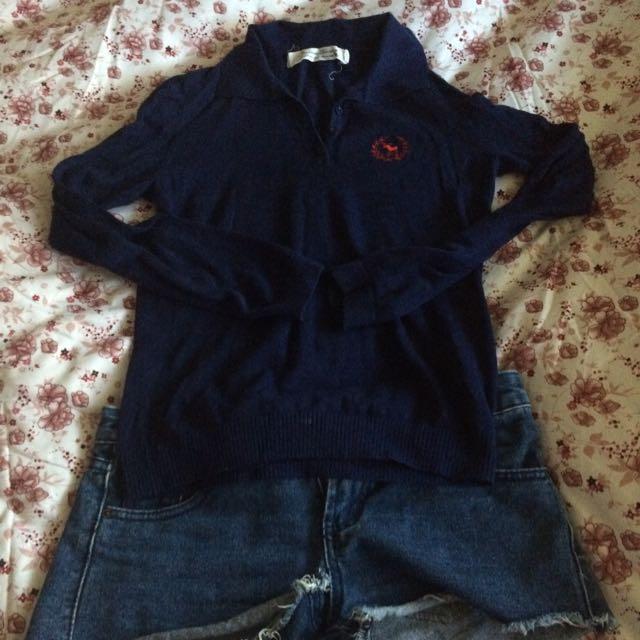 Polo領針織衫
