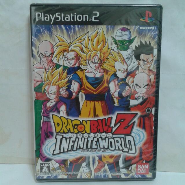 PS2遊戲 七龍珠 無限世界 日版 全新 附特典