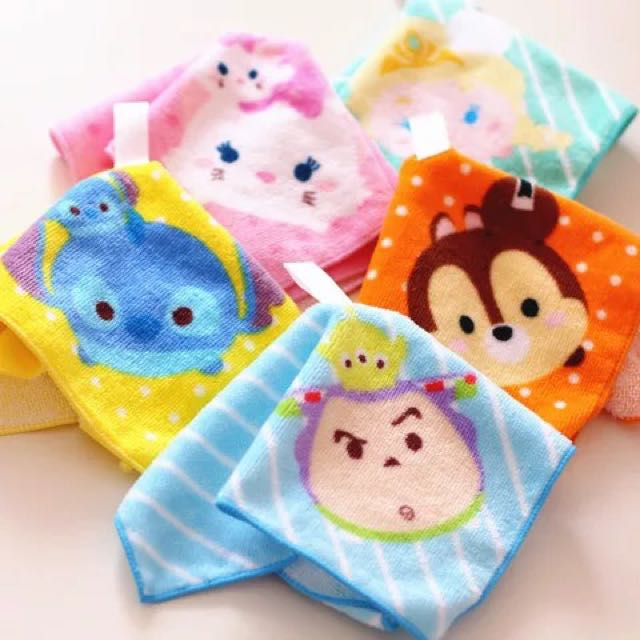 日本tsumtsum小方巾