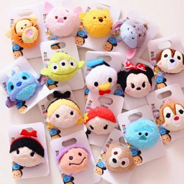 日本迪士尼Tsumtsum可愛胸針