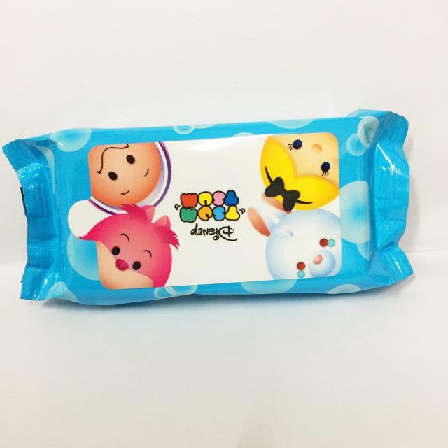 TsumTsum 愛麗絲夢遊仙境 迷你 隨身包 親膚濕紙巾 時間兔蛤蠣寶寶妙妙貓迪士尼