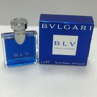 BVLGARI BVL Pour Homme 寶格麗藍茶男性淡香水 5ml