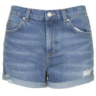 Rosa Topshop Denim Shorts