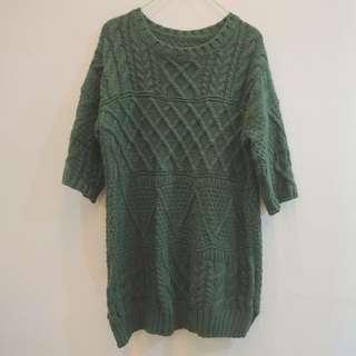 全新✨ 復古厚質保暖針織毛衣
