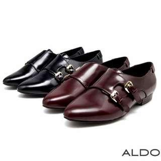 徵  ALDO這雙孟克鞋或類似款牛津鞋 37號