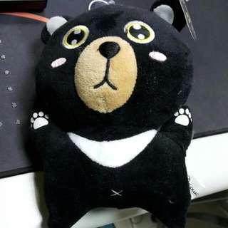 黑熊企鵝熊巨人娃娃