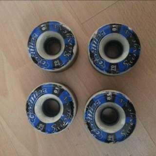 Longboard Wheels Swingers 70mm 81A For Sale!!