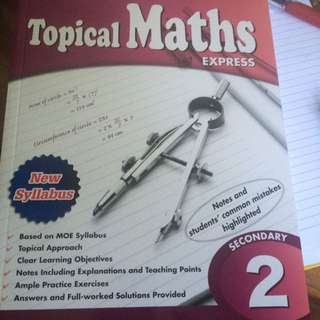 Topical Maths Express By EPH