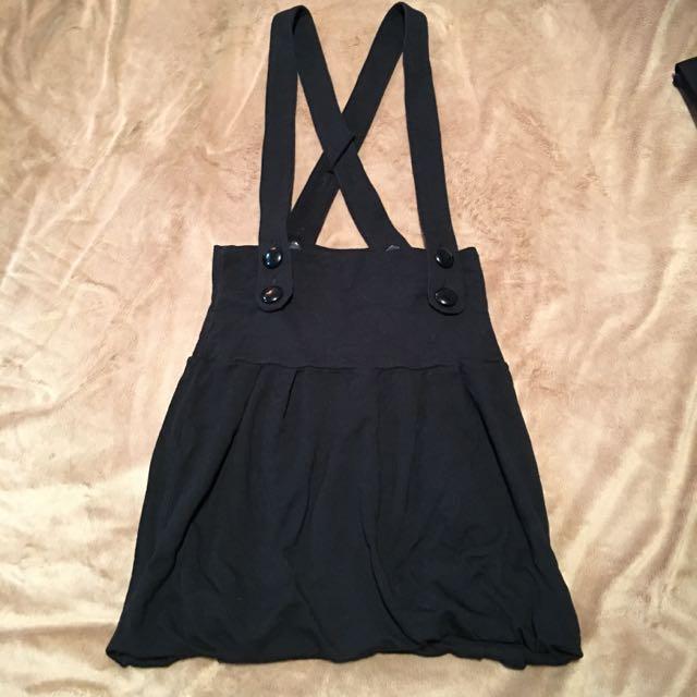0918 黑色小吊帶裙