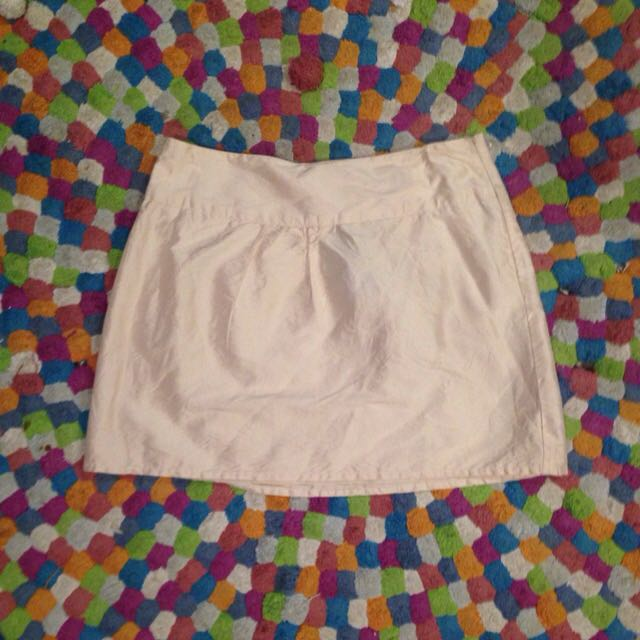 100% Silk Mini Skirt Size 12