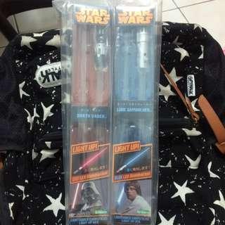 STAR WARS 星際大戰 光劍 筷子-藍色