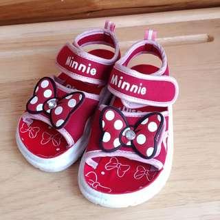 ✨可愛米妮涼鞋✨13公分