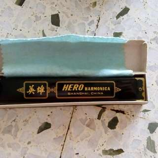 Hero 24-double-holes Harmonica M1007