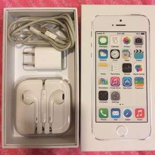 I PHONE 5s 32G 銀色 全配備