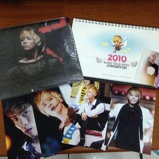 SHINee金鐘鉉OIAM 2010桌曆