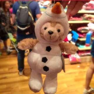 香港迪士尼帶回 雪寶 達菲 雪莉梅