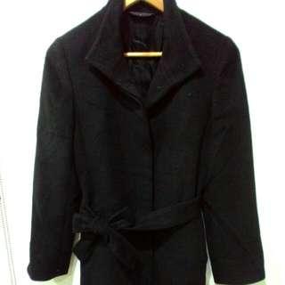 980元 超長大衣(125公分) MASTINA  上班族大衣 大衣 黑色大衣 高級質料 香港製 保存良好