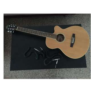 Guitar ( STAGG BRAND ) Western Accoustic (Bought in Norway)