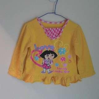 Dora 厚棉內磨毛上衣