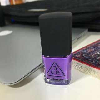 3CE指甲油-淡紫色💅🏼(含運)