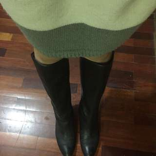 黑色靴子❤️