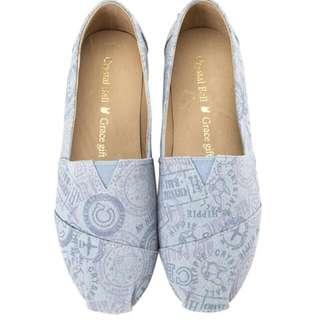 (降價 🎊)Hippie滿版旅行印花休閒鞋 Grace Gift &  Crystal Ball聯名系列