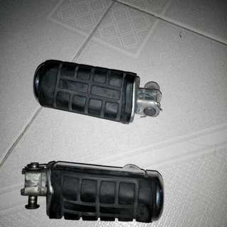 Honda Shadow Front Foot Pegs. Suitable For Any Japanese Cruisers.