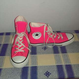 Converse Pink Shoes