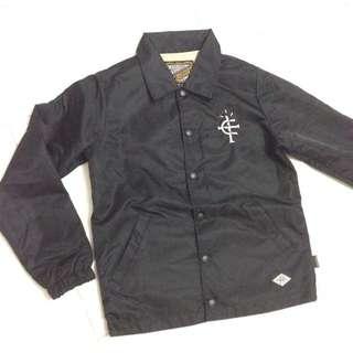 ENOB20XX 教練外套 夾克 鎖鏈車縫 刺繡 電繡 潮流 二手 出清