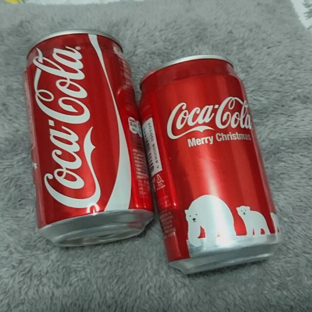 【品牌蒐藏】2012年 可口可樂聖誕紀念罐 (香港版)
