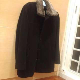 專櫃品牌G2000 男版毛外套