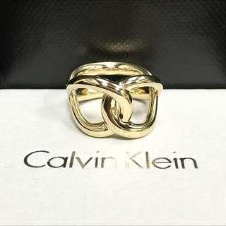 CK Watch&Jewelry纏繞系列PVD金戒指