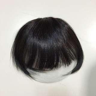 真髮瀏海髮片