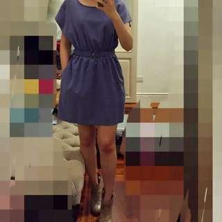 H&M divided 紫洋裝