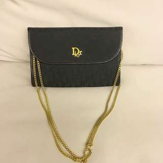 Christian Dior Vintage Chain Clutch/ Sling