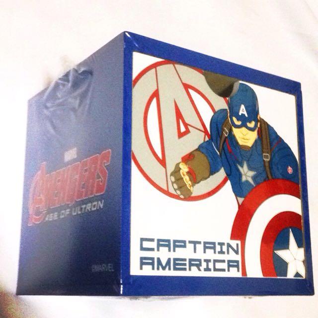 《授權版》美國隊長_積木盒_現貨