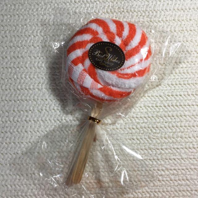 台灣製 興隆毛巾 造型棒棒糖