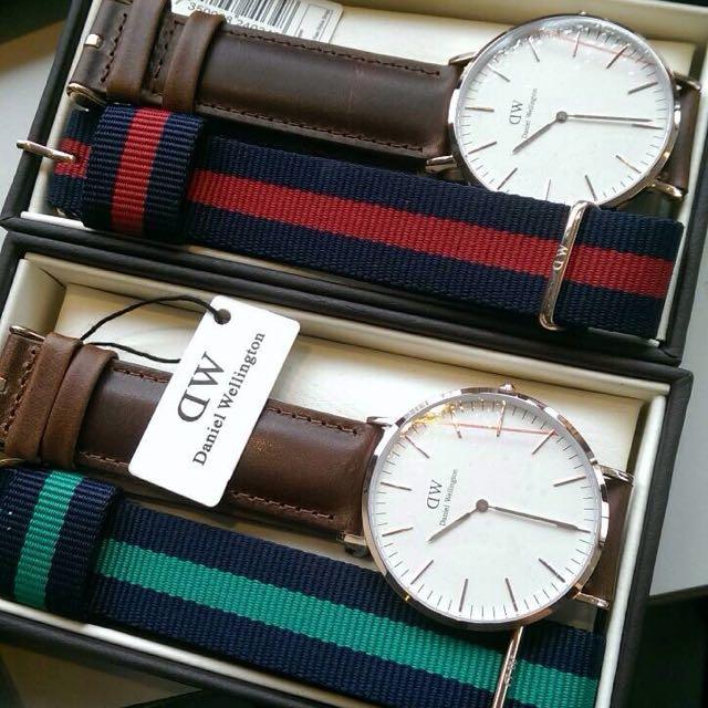 免運費 !全新 正品DW手錶 玫瑰金 送尼龍錶帶40mm✨✨