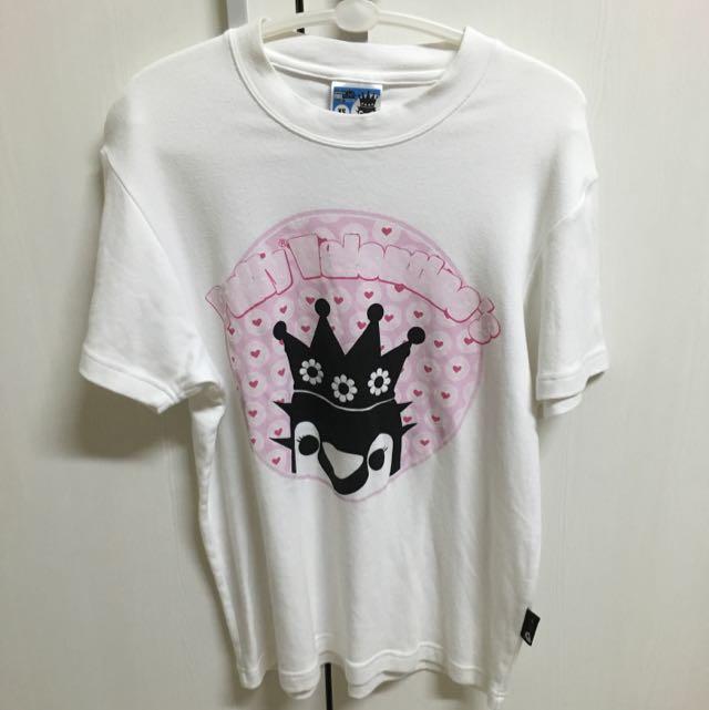 [近全新]潮牌絕版 情人節 puffNation 女生T恤